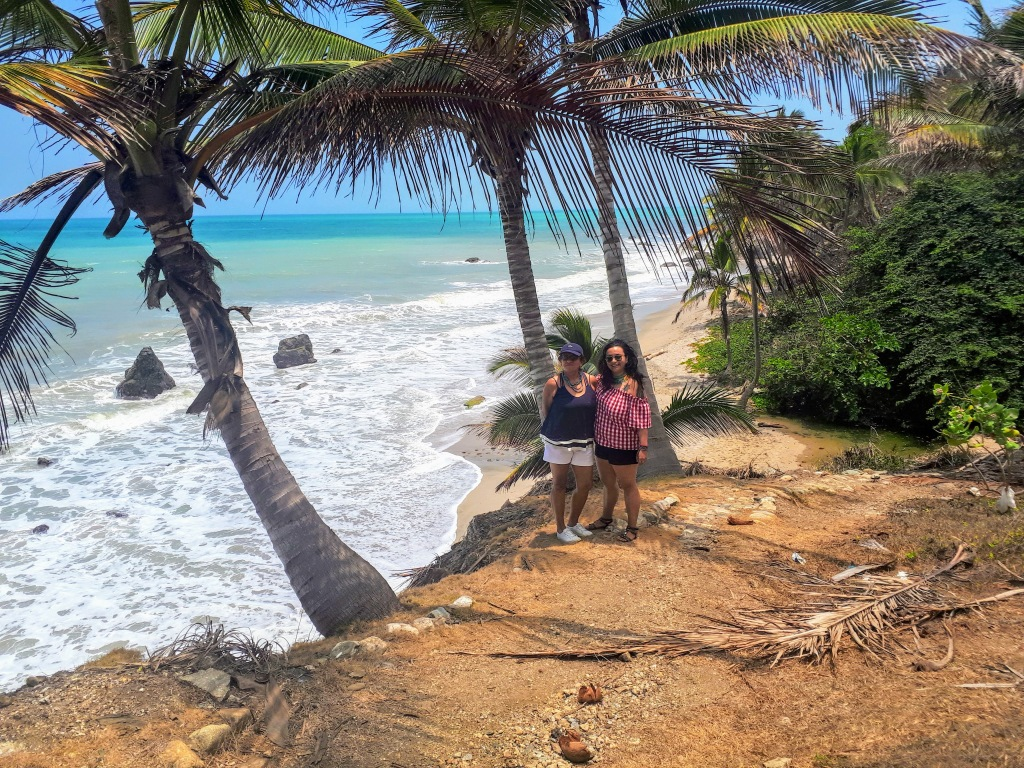 Andrea y Stella en Los Coquitos.