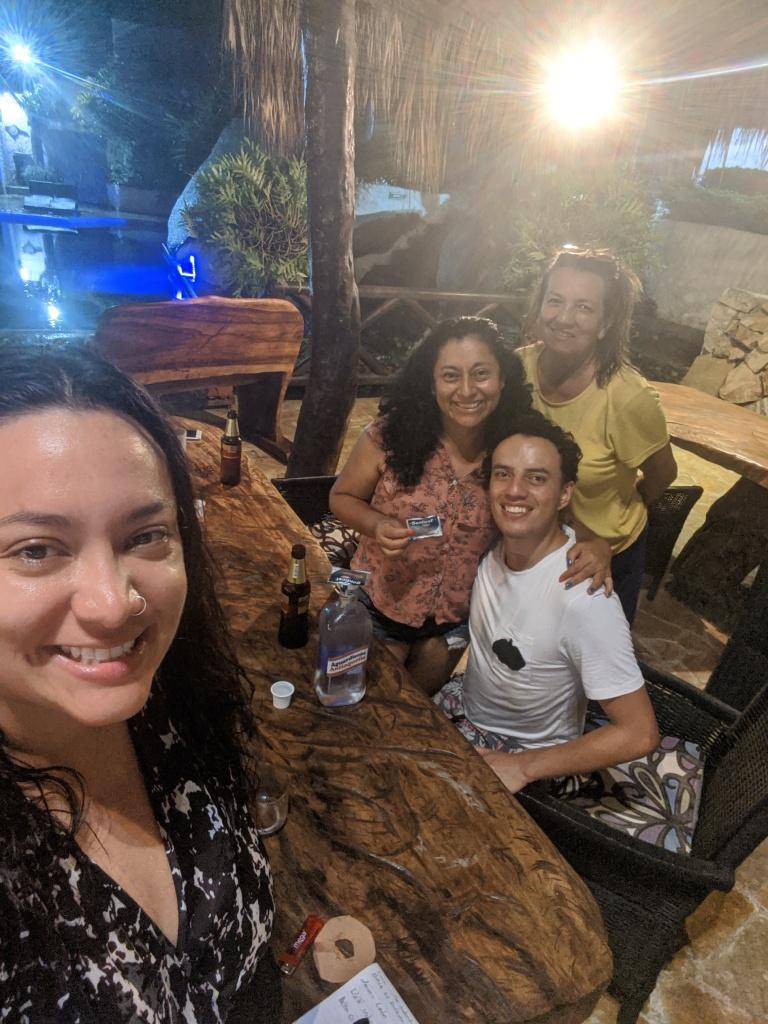 La familia Villa Cata en Cuarentena